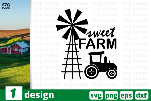 Download Free 1 Sweet Farm Svg Bundle Quotes Cricut Graphic By Svgocean for Cricut Explore, Silhouette and other cutting machines.
