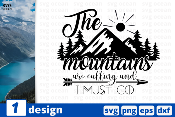 Download Free 1 The Mountains Camping Cricut Svg Graphic By Svgocean for Cricut Explore, Silhouette and other cutting machines.