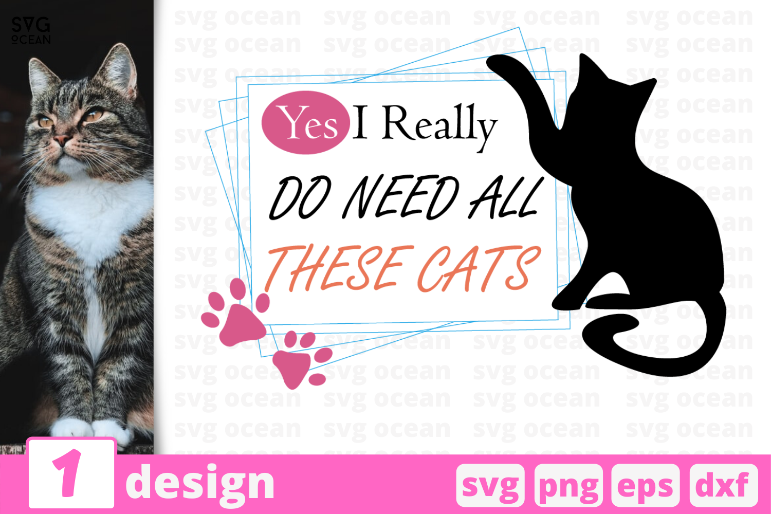 Download Free These Cats Graphic By Svgocean Creative Fabrica for Cricut Explore, Silhouette and other cutting machines.