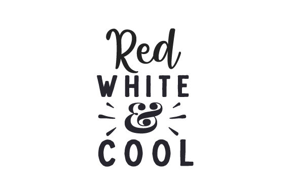 Download Free Red White Cool Svg Cut File By Creative Fabrica Crafts for Cricut Explore, Silhouette and other cutting machines.