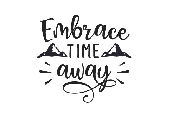 Download Free Embrace Time Away Svg Cut File By Creative Fabrica Crafts for Cricut Explore, Silhouette and other cutting machines.