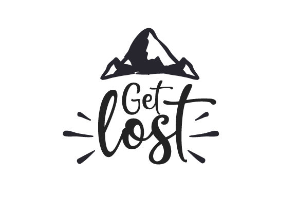 Download Free Get Lost Svg Cut File By Creative Fabrica Crafts Creative Fabrica for Cricut Explore, Silhouette and other cutting machines.