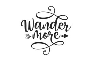 Wander More Travel Craft Cut File By Creative Fabrica Crafts