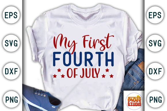 4th Of July All American Boy Graphic By Craftstudio Creative