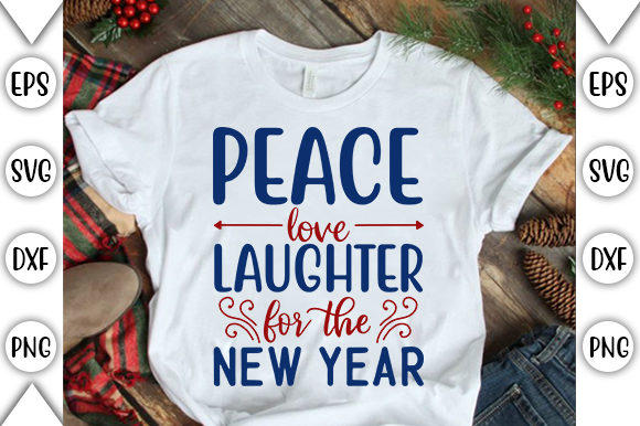 Download Free 4th Of July Peace Love Laughter Graphic By Store Svg for Cricut Explore, Silhouette and other cutting machines.