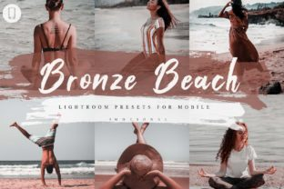 Print on Demand: 5 Bronze Island Mobile Lightroom Presets Graphic Actions & Presets By 3Motional