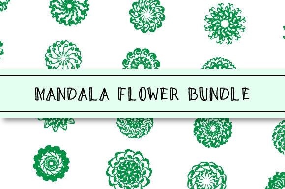Print on Demand: Abstract Mandala Flower Graphic Crafts By Masyafi Creative Studio