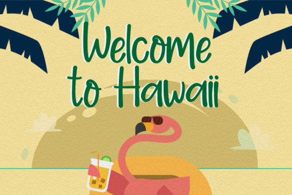 Download Free Aloha Summer Font By Jimtypestudio Creative Fabrica for Cricut Explore, Silhouette and other cutting machines.