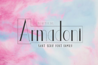 Print on Demand: Armadoni Serif Font By parawtype
