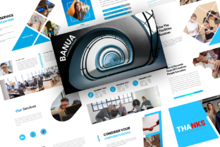 Print on Demand: Banua – Bussiness PowerPoint Template Graphic Presentation Templates By Nahda Creative