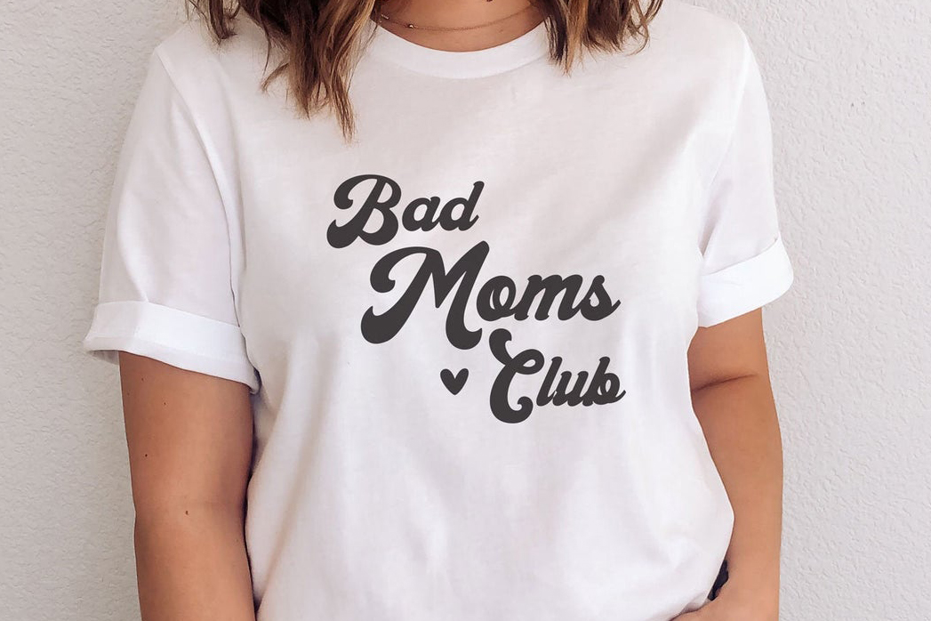 Download Free Bad Moms Club Graphic By Thekccollectiveco Creative Fabrica for Cricut Explore, Silhouette and other cutting machines.