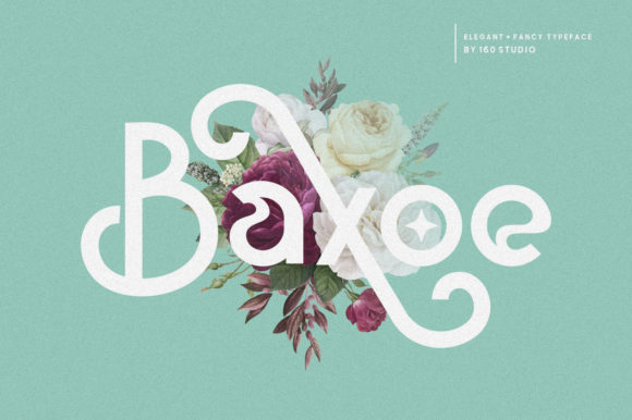 Print on Demand: Baxoe Sans Serif Font By 160 Studio - Image 1