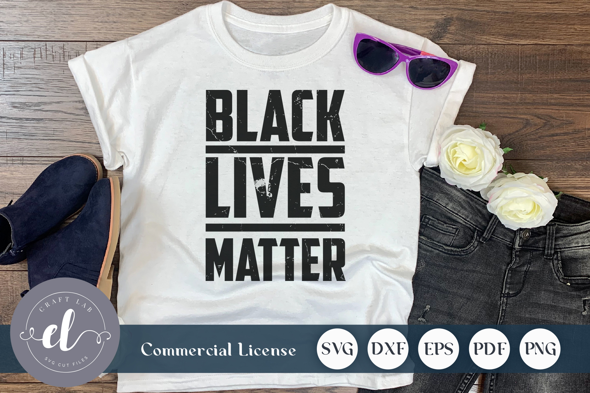 Download Free Black Lives Matter Graphic By Craftlabsvg Creative Fabrica SVG Cut Files