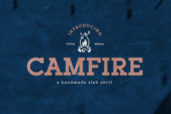 Print on Demand: Campfire Slab Serif Font By Typia Nesia