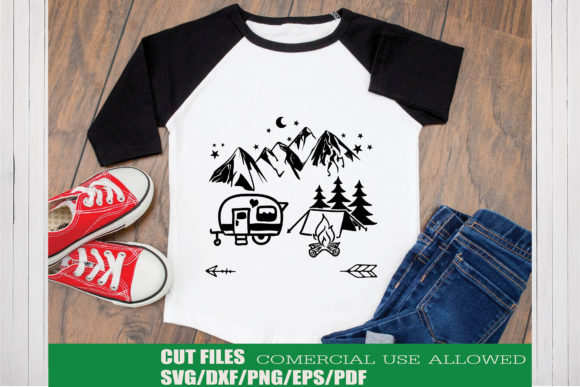 Print on Demand: Camping Adventure Graphic Crafts By KtwoP