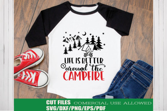 Download Free Camping Adventure Bundle Bundle Creative Fabrica for Cricut Explore, Silhouette and other cutting machines.
