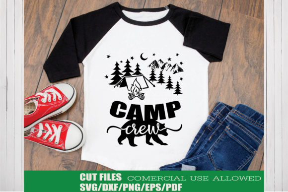 Print on Demand: Camp Crew Graphic Crafts By KtwoP