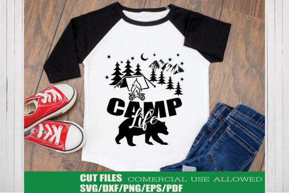 Print on Demand: Camp Life Graphic Crafts By KtwoP