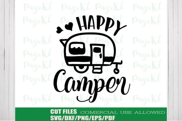 Download Free Camping Adventure Mountain Craft Design Graphic By Ktwop for Cricut Explore, Silhouette and other cutting machines.