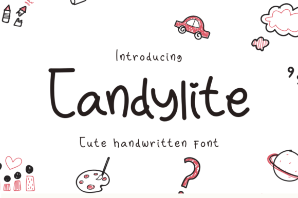 Download Free Candylite Font By R Studio Creative Fabrica for Cricut Explore, Silhouette and other cutting machines.