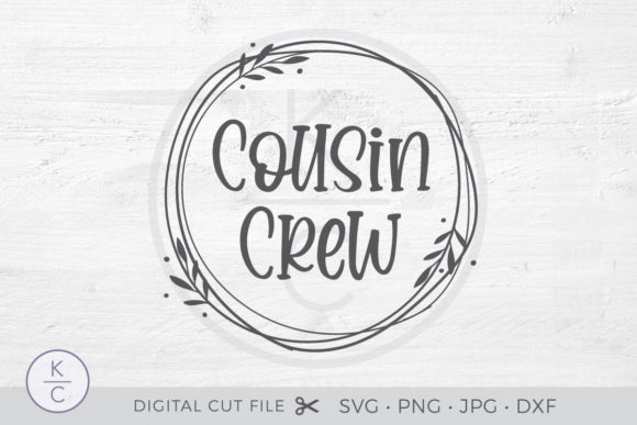 Download Free Cousin Crew Graphic By Thekccollectiveco Creative Fabrica for Cricut Explore, Silhouette and other cutting machines.
