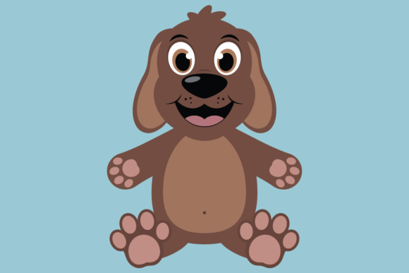 Download Free Cute Boy Dog Graphic By Captaincreative Creative Fabrica for Cricut Explore, Silhouette and other cutting machines.