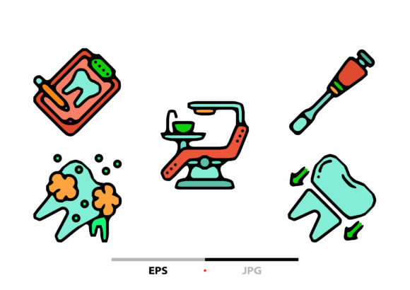 Download Free Dental Abstract Graphic By Sayangnadyapkm3 Creative Fabrica for Cricut Explore, Silhouette and other cutting machines.
