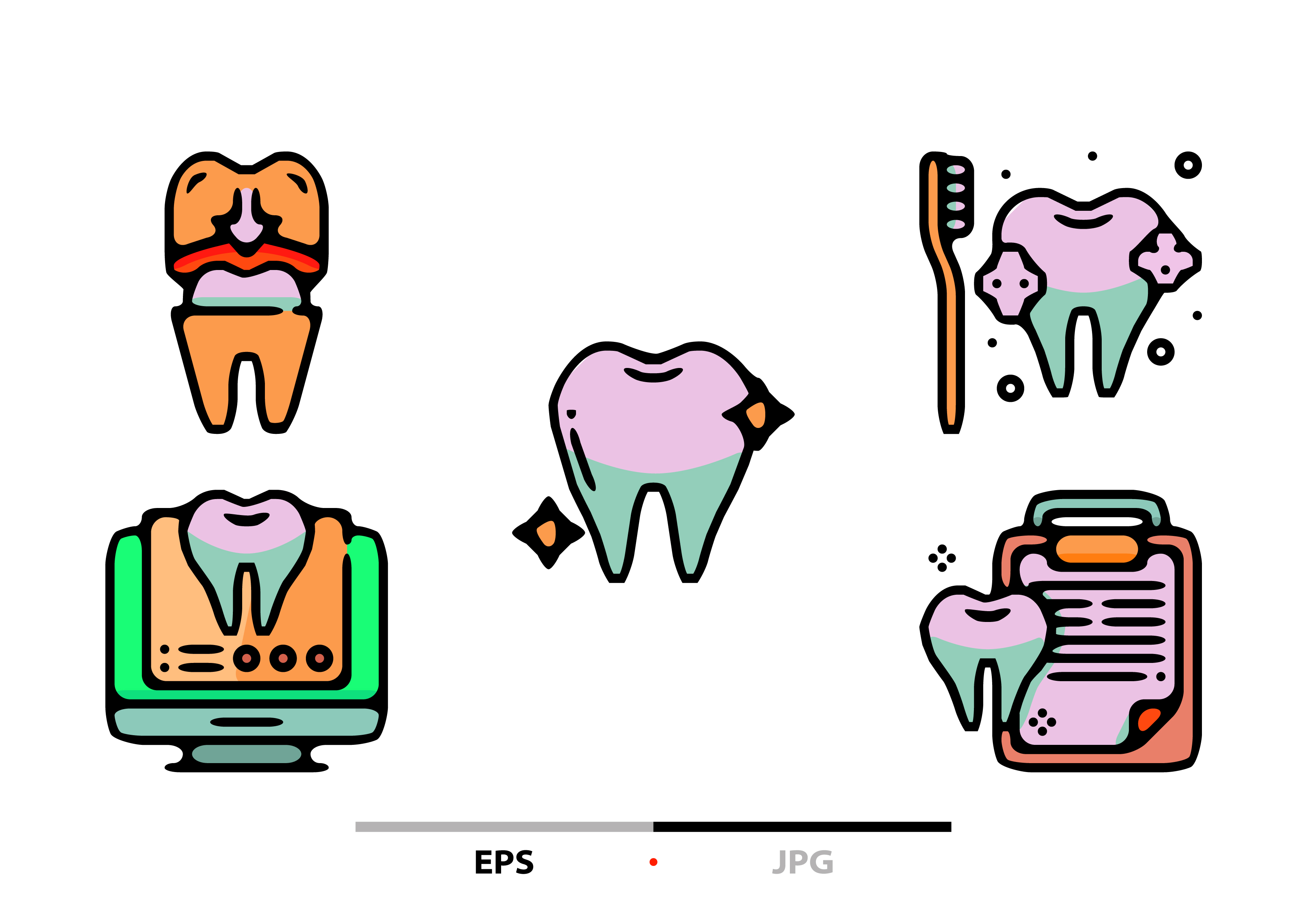 Download Free Dentist Abstract Graphic By Sayangnadyapkm3 Creative Fabrica for Cricut Explore, Silhouette and other cutting machines.