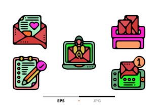 Dialogue Assets Abstract Graphic Icons By sayangnadyapkm3