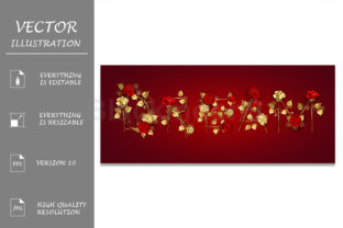 Dream from Jewelry Red Roses Graphic Illustrations By Blackmoon9