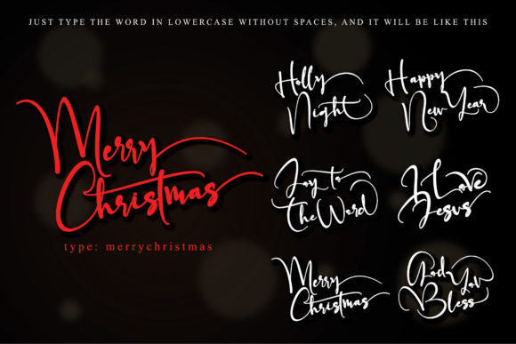 Father Christmas Font Download