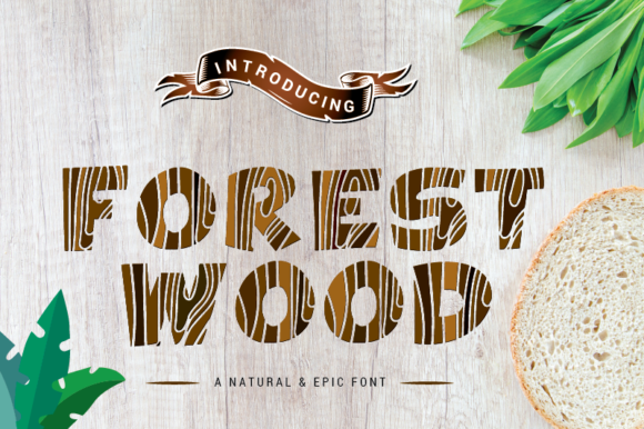 Download Free Forest Wood Font By Nabarya Business Creative Fabrica for Cricut Explore, Silhouette and other cutting machines.