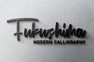 Print on Demand: Fukushima Script & Handwritten Font By Arendxstudio