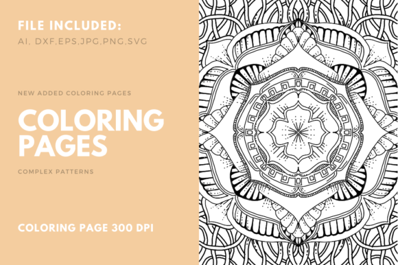 Print on Demand: Geometric Coloring Book for KDP Graphic Coloring Pages & Books Adults By stanosh
