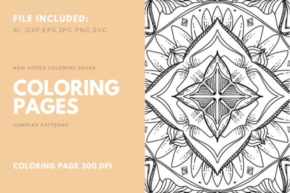 Print on Demand: Geometric Coloring Poge for KDP Graphic Coloring Pages & Books Adults By stanosh - Image 1