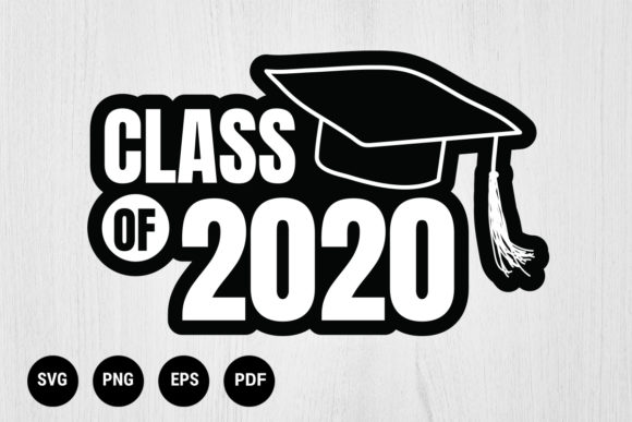 Download Free Graduation File Graphic By 99 Siam Vector Creative Fabrica for Cricut Explore, Silhouette and other cutting machines.