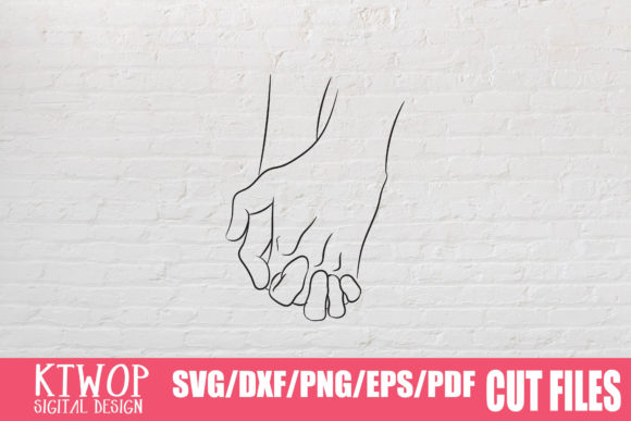 Download Free Hand Hold Minimal Bundle Graphic By Ktwop Creative Fabrica for Cricut Explore, Silhouette and other cutting machines.