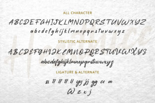 Print on Demand: Hessthicc Script & Handwritten Font By AbasCreative 3