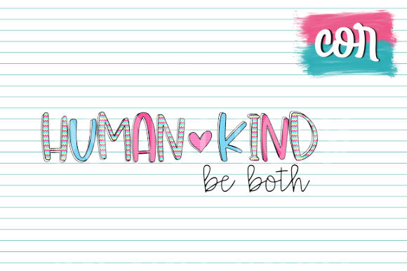 Print on Demand: Human Kind Be Both Graphic Crafts By designscor