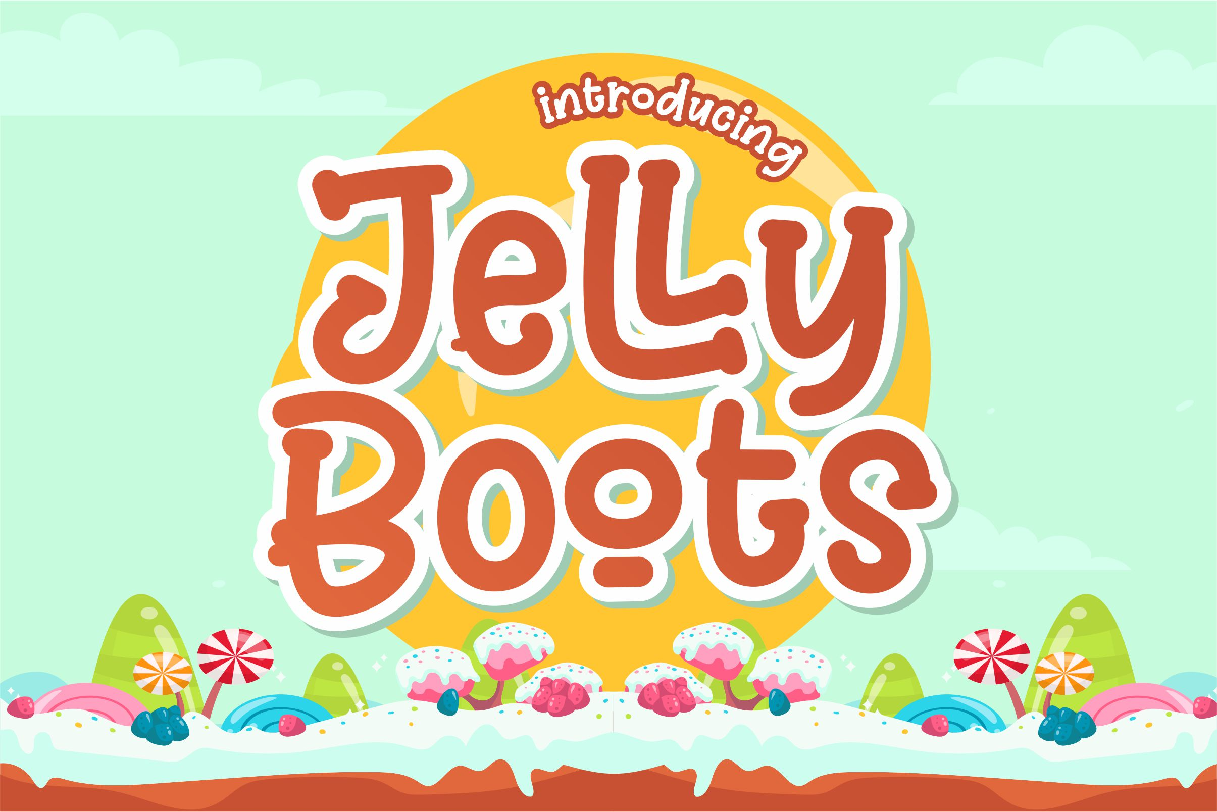 Download Free Jelly Boots Font By Awansenja Type Creative Fabrica for Cricut Explore, Silhouette and other cutting machines.