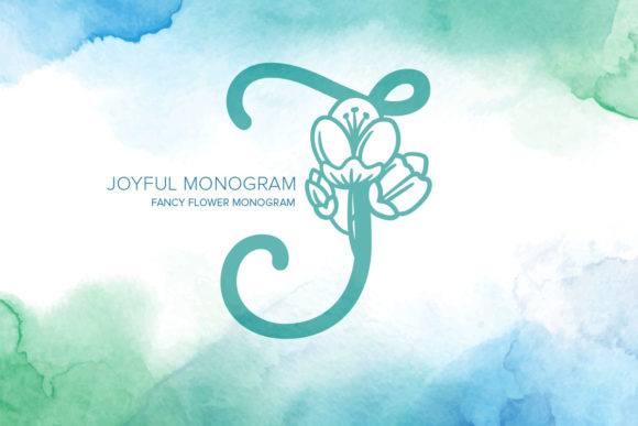 Print on Demand: Joyful Monogram Dekorativ Schriftarten von Monogram Lovers