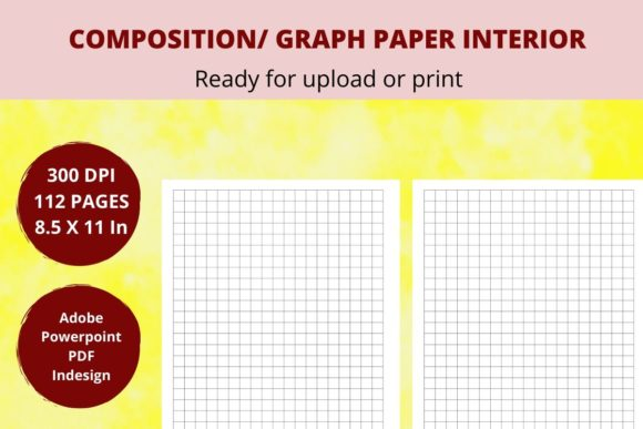 Print on Demand: KDP Graph Paper Graphic KDP Interiors By Creative arts
