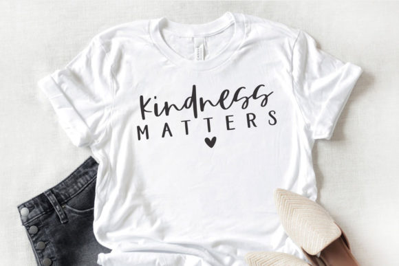 Download Free Kindness Matters Graphic By Thekccollectiveco Creative Fabrica SVG Cut Files