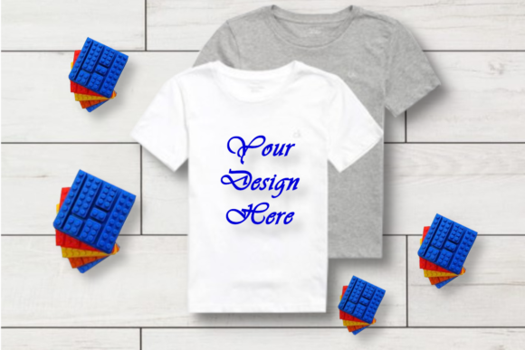 Mockup Toddler White T-shirt Graphic Product Mockups By MockupsByGaby