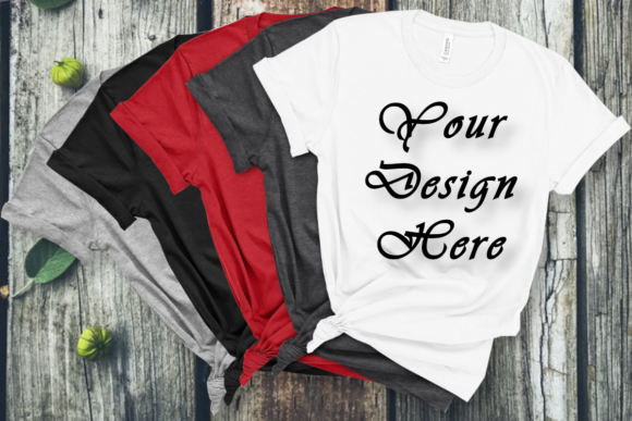 Mockups Bella Canvas T-shirts Graphic Product Mockups By MockupsByGaby