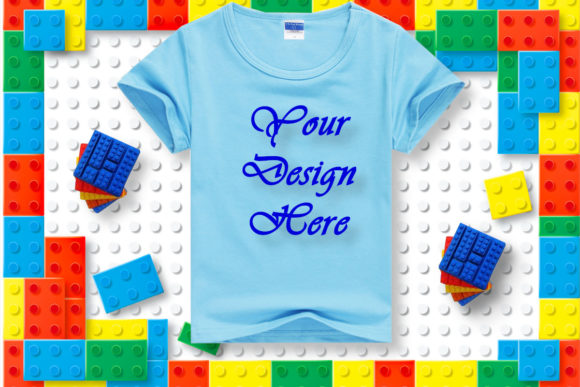 Download Free Mockups Toddler Blue T Shirt Flat Lay Graphic By Mockupsbygaby for Cricut Explore, Silhouette and other cutting machines.