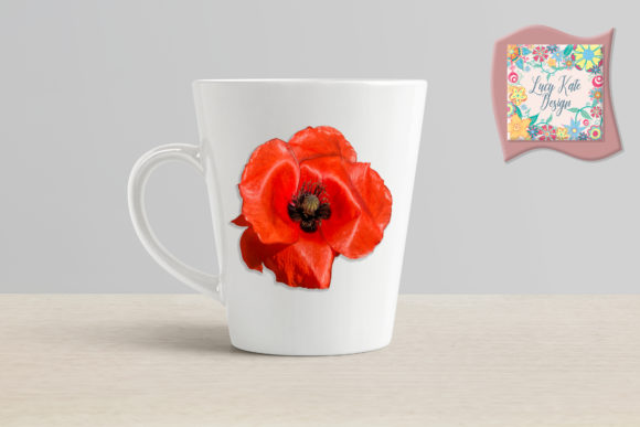 Download Free Poppy Power Graphic By Lucy Kate Design Creative Fabrica for Cricut Explore, Silhouette and other cutting machines.