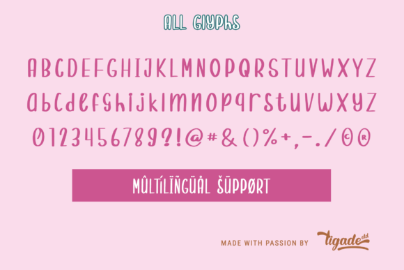 Print on Demand: Randomly Cute Script & Handwritten Font By Tigade std - Image 4
