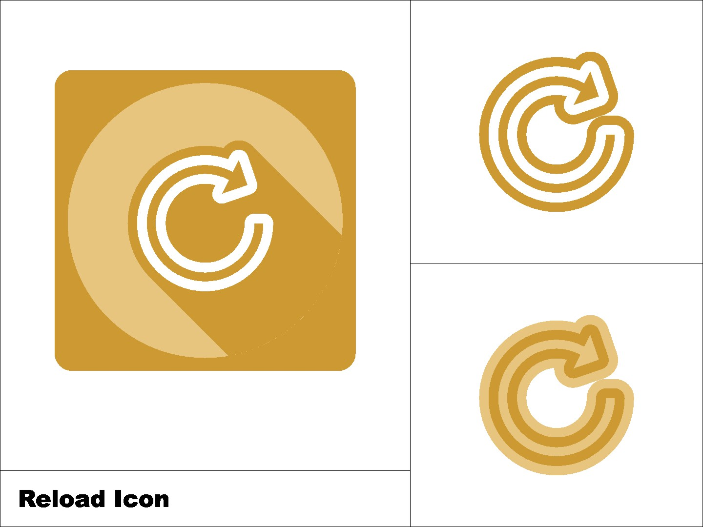 Download Free Reload Refresh Icon 3 Model Graphic By Novieart 99 Creative for Cricut Explore, Silhouette and other cutting machines.
