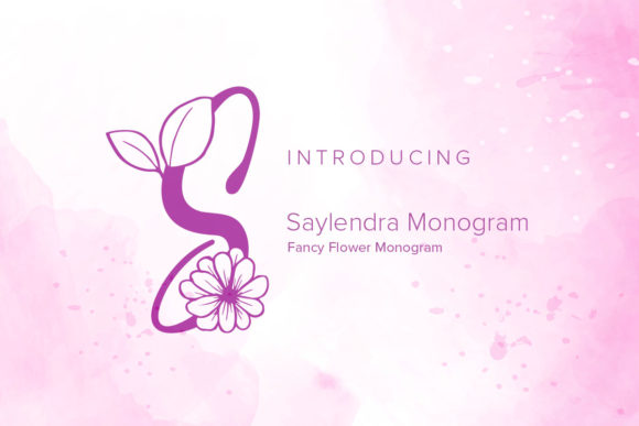 Print on Demand: Saylendra Monogram Dekorativ Schriftarten von Monogram Lovers